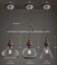 2014 latest vintage pendant light BL8028