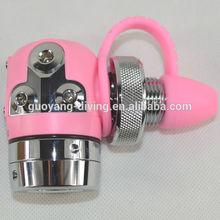 Pink Scuba diving tools port first stage regulator manufacturer