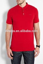 men fashion t shirt / red polo shirt china factory