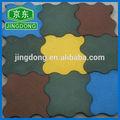 qualidade superior coloridas ao ar livre playground borracha reciclada ladrilhos