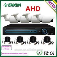 CCTV camera system 4CH 720P AHD camera+ h. 264 HD DVR KITS AHD home security system ir-cut dvr kit