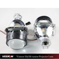Normal Visteon coche ocultó la luz y Super Visteon automotive Hid Bi xenon lente del proyector de luz