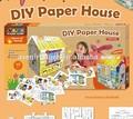 discovery kids cor de papelão e jogar jogo de casas