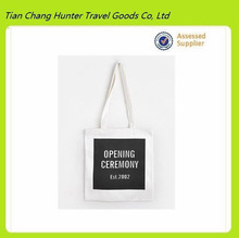 cotton canvas tote bag,costom tote bag with Long handle