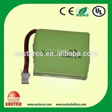 ni-mh 2.4v battery pack,AA 2.4V 600mAh nimh Battery pack _ manufacturer price