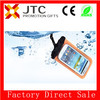 JTC 10years production experience pvc handmade waterproof phone pouch with hanging for swimming