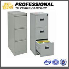powder coating pine filing cabinet 3 drawer