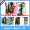 In Stock Untra thin 6 Colors SGP Slim Armor Spigen Case For Iphone 6 4.7inch