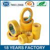 Best selling Single side Yellow masking tape