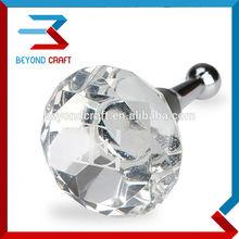 Diamond shape crystal wine cork,crystal wine bottle cork