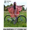 de promoción de moto bici poncho
