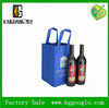 Eco-friendly Durable 4 bottles Non Woven Wine Bag