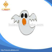 custom 2d/3d skull ghost halloween lapel pin badge
