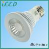 High Performance E26 E27 LED 38 Degree Focus Light Spot Soft White PAR20 LED Dimmable 3000K