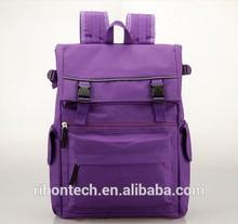 2014 pu/pvc women handbags Genuine Leather new design lady backpack