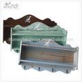 a pintura da água flutuante antigos modelos de parede decorativos de madeira prateleiras