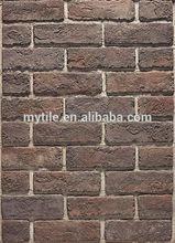 Artificial piedra azulejos de la pared, Ladrillos rojos para construcción