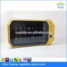 Utility 7 inch smart android tablet pc 1D/2D barcode scanner /RFID reader/Fingerprint Reade(RD7000)