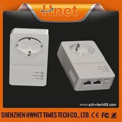 2014 HomePlug AV2 (500+Mbps) Powerline Mini Passthrough adapter powerline network adapter
