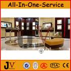 glass jewelry display table jewellry/jewelry decoration shop