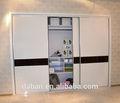تصميم خزانة حائط غرفة النوم الخشبية من الخشب