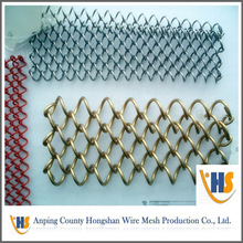 Anping suply Chain Link fence garden for fencing and animal fencing