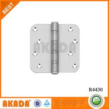 4 inch round edge stainless steel butt door Hinges