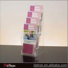 Acrylic flyer table display stand