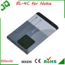 Original High quality BL-4C 3.7v 800mah mobile phone battery for nokia