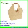 2015 Luda cheap handmade Crochet Straw bag genuine Paper Straw Tote Bag