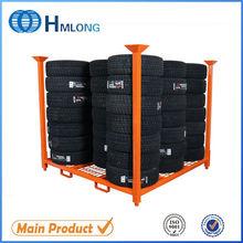 Heavy duty warehouse durable wall tire display