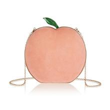 Unique Luxury Custom Design Messenger Bag Ladies Bags Apple Shape