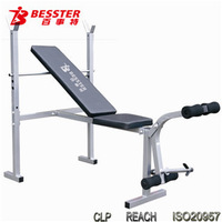 BEST JS-005HA weight lifting bench new as seen on tv ab exercise equipment hand weight