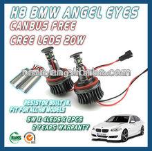 H8 20W CREE LED ANGEL EYES MARKER: E82,E87,E88,E90 (LCI),E92,E93,X1, X5