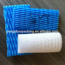 foam fruit sock net for packaging 16*6.5cm