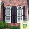 Excellent weatherability faux brick single color building wall cheap spray coating