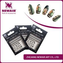 Joyme latest new design nails art stickers self adhesive