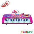 Plástico instrumento musical eletrônico teclados, baratos teclado eletrônico
