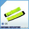 glow in dark PVC Reflective slap wrap elastic reflective velcro armband