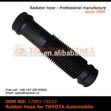 Compressor air intake hose / flexible hose air compressor rubber hose assembly for Toyota