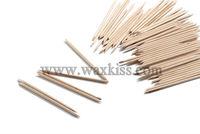 Nail tool/ dual end orange nail polish stick/ dual end orange nail art wooden stick for clean tool