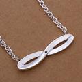 創造的なデザインのメガネyesonestop形の銀製のネックレス