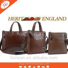 PMB2014027 2014 New Design men leather travel bag leather pouch bag for men european shoulder bag for men