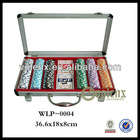 Professional 300pcs Poker Chip Set With Custom Logo