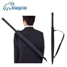 automatic fiberglass samurai sword umbrella