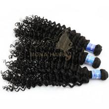 100% cheap brazilian human hair guangzhou mona brazilian hair international company