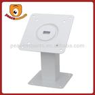 Creative 180 Degrees Tilt and 360 Degrees Rotation White flexible laptop stand