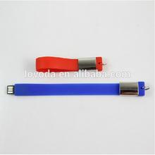 Hot sale !Bracelet usb flash drive wrist usb hand band mini usb flash drive/usb 2.0 driver/low price usb 3g modem LFN-218