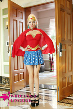 Party Carnival adult sexy womens superhero sexy superman costume for women