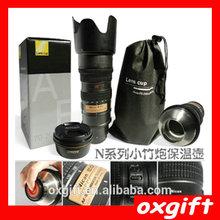 OXGIFT The Bamboo Cannon lens kettle for Nikon